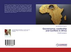 Buchcover von Gouvernance, Leadership and Conflicts in Africa