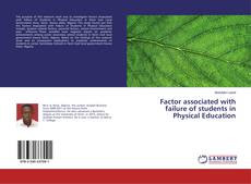 Portada del libro de Factor associated with failure of students in Physical Education