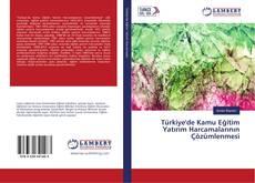 Türkiye'de Kamu Eğitim Yatırım Harcamalarının Çözümlenmesi kitap kapağı