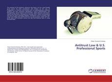 Bookcover of Antitrust Law & U.S. Professional Sports