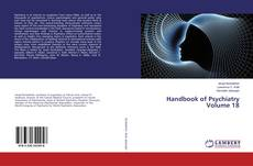 Capa do livro de Handbook of Psychiatry Volume 18