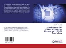 Couverture de Analog Interface Implementation of Glucometer in CMOS Technology