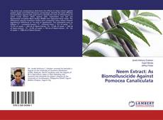 Bookcover of Neem Extract: As Biomolluscicide Against Pomocea Canaliculata