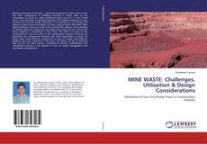 Capa do livro de MINE WASTE: Challenges, Utilisation & Design Considerations