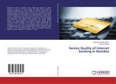 Capa do livro de Service Quality of Internet banking in Namibia