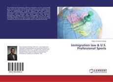Copertina di Immigration law & U.S. Professional Sports