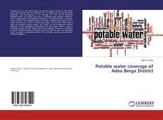 Buchcover von Potable water coverage of Adea Berga District
