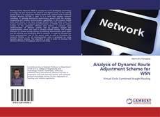 Buchcover von Analysis of Dynamic Route Adjustment Scheme for WSN