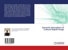 Buchcover von Semantic Description of Cultural Digital Image