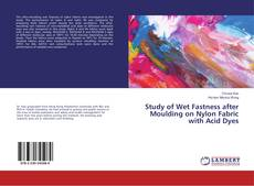 Bookcover of Study of Wet Fastness after Moulding on Nylon Fabric with Acid Dyes