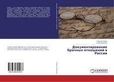 Capa do livro de Документирование брачных отношений в России