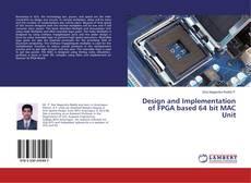 Capa do livro de Design and Implementation of FPGA based 64 bit MAC Unit