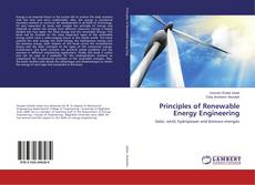 Bookcover of Principles of Renewable Energy Engineering