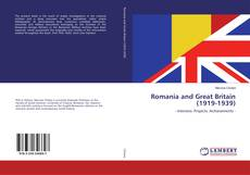 Bookcover of Romania and Great Britain (1919-1939)
