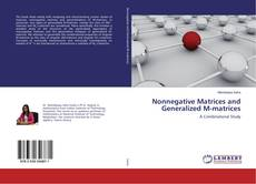Buchcover von Nonnegative Matrices and Generalized M-matrices
