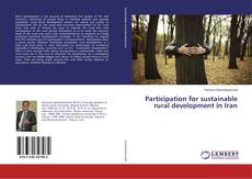 Participation for sustainable rural development in Iran kitap kapağı