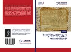 Portada del libro de Köyseyirlik,Ortaoyunu ve Commedia Dell'Arte Arasındaki İlişkiler