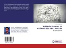 Borítókép a  Investor's Behavior on Various Investment Avenues - hoz
