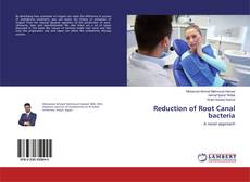 Buchcover von Reduction of Root Canal bacteria