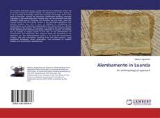 Capa do livro de Alembamento in Luanda