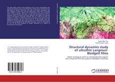 Bookcover of Structural dynamics study of ultrathin Langmuir-Blodgett films