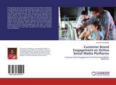 Buchcover von Customer Brand Engagement on Online Social Media Platforms