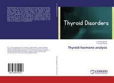 Copertina di Thyroid hormone analysis