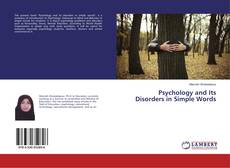 Psychology and Its Disorders in Simple Words的封面