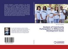 Borítókép a  Analysis of Community Participation in Millennium Development Goals - hoz