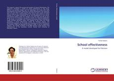 School effectiveness kitap kapağı