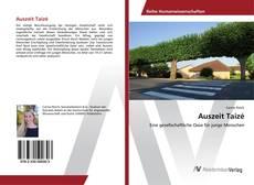 Portada del libro de Auszeit Taizé
