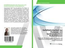 Bookcover of Gefäßdehnbarkeit bei Personen mit kardiovaskulären Risikofaktoren