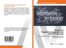Bookcover of Verteiltes Projektmanagement bei einem IT-Startup