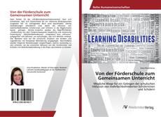 Buchcover von Von der Förderschule zum Gemeinsamen Unterricht