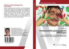 Buchcover von Professionelle pädagogische Haltungen