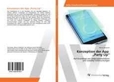 """Buchcover von Konzeption der App """"Party Up"""""""