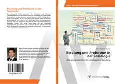 Capa do livro de Beratung und Profession in der Soziologie