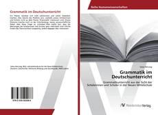 Bookcover of Grammatik im Deutschunterricht