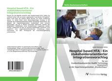 Обложка Hospital based HTA - Ein stakeholderorientierter Integrationsvorschlag