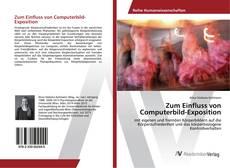 Bookcover of Zum Einfluss von Computerbild-Exposition