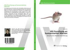 Buchcover von HIV-Forschung an humanisierten Mäusen