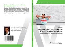 Buchcover von Mathematik-Klausurtrainer für das Bachelorstudium