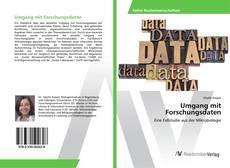 Buchcover von Umgang mit Forschungsdaten