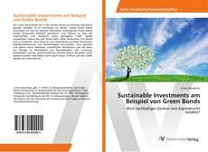 Copertina di Sustainable Investments am Beispiel von Green Bonds