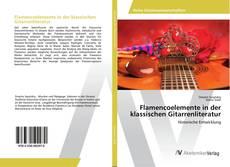 Capa do livro de Flamencoelemente in der klassischen Gitarrenliteratur