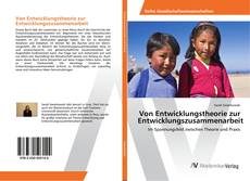 Von Entwicklungstheorie zur Entwicklungszusammenarbeit kitap kapağı