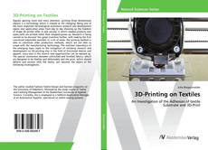 Capa do livro de 3D-Printing on Textiles