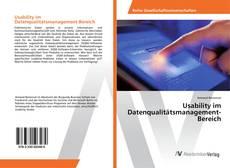 Usability im Datenqualitätsmanagement-Bereich的封面