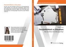 Portada del libro de Persönlichkeit vs Situation