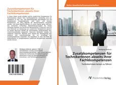 Bookcover of Zusatzkompetenzen für TechnikerInnen abseits ihrer Fachkkompetenzen